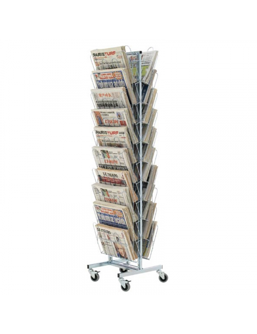 Tourniquets journaux rotatifs 20 cases