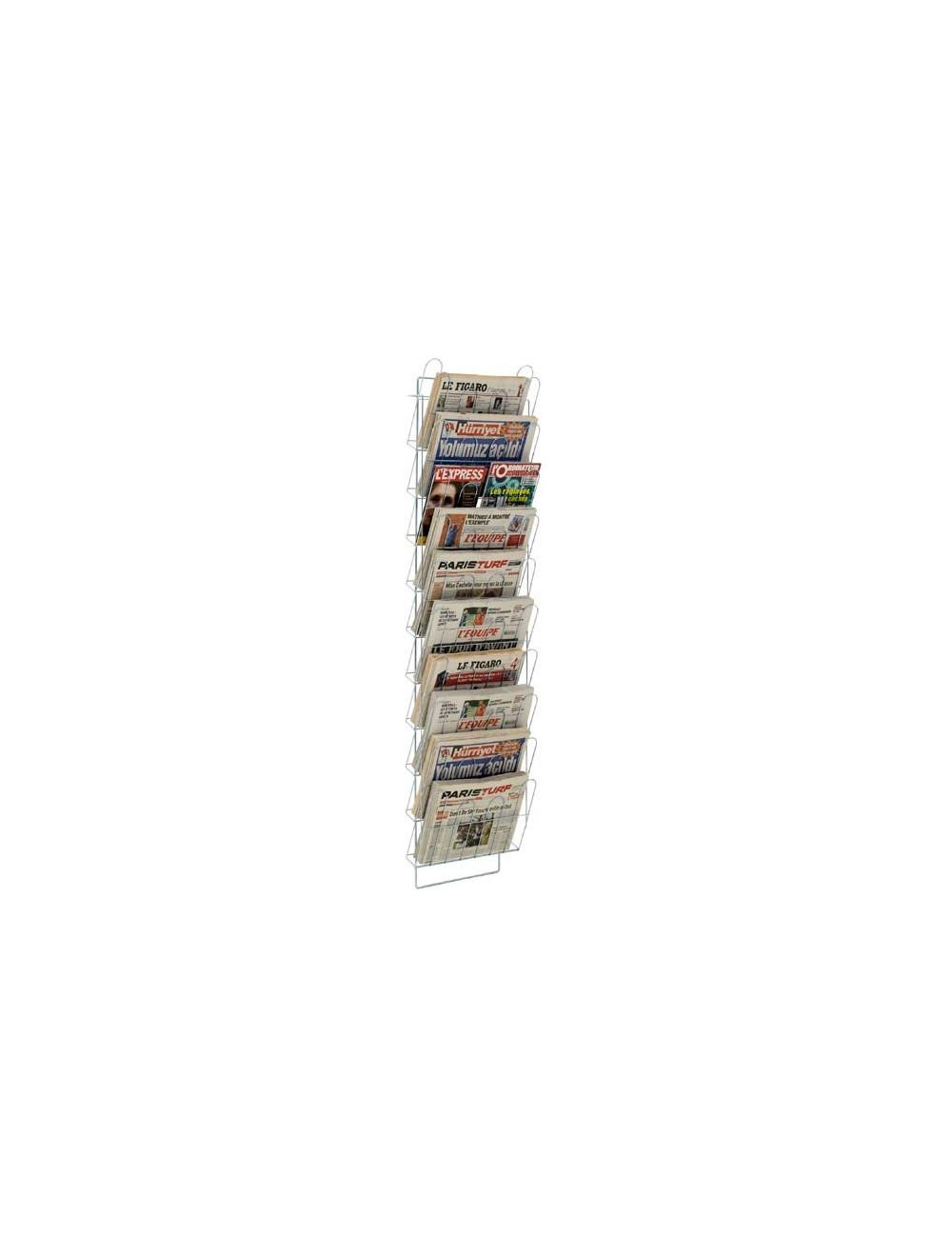 Echelle murale journaux 15 cases