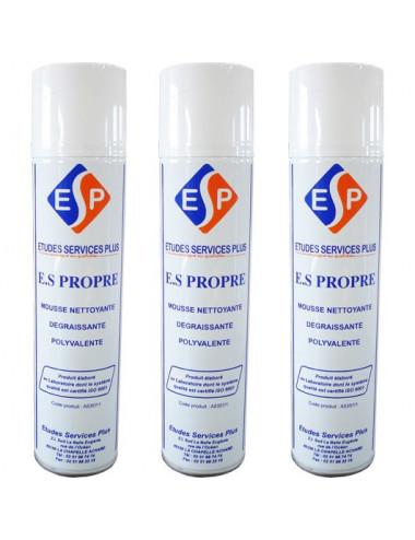 Mousse nettoyante ES Propre (lot de 2 + 1 offerte)