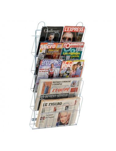 Echelle murale journaux 5 cases
