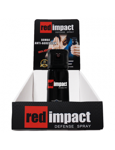 Bombe anti agression Red Impact