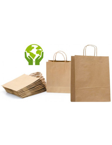 Sac Papier Kraft (Lot de 250 sacs)